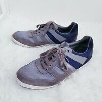 Hugo Boss Casual Smart Grey Blue Men's Trainers Size UK 7 EUR 41