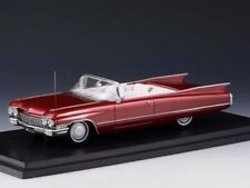 Stamp Models Cadillac Series 62 Convertible 1960 Maroon (OPEN)1:43 STM60301
