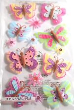 JOLEE'S BOUTIQUE PAISLEY BUTTERFLY REPEAT Scrapbook Craft Stickers Embellishment