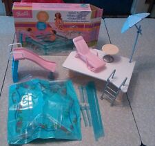 Rare Barbie doll happy family splash 'n slide playset. Open box. Mattel Canada.