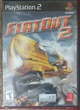 Flatout 2 Sony Playstation 2 PS2 Video Game Complete