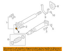 NISSAN OEM 16-18 Titan XD Drive Shaft-Rear-Drive Shaft Nut 371715X00A