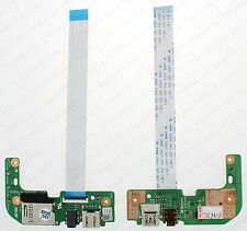 ASUS X555L X555LD AUDIO USB CARD READER IO BOARD REV 2.0 60NB0620-IO1030