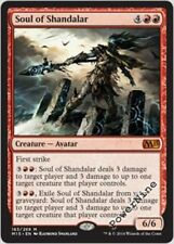 4 PLAYED Soul of Shandalar - Red Magic 2015 m15 Mtg Magic Mythic Rare 4x x4