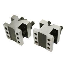 2 38 X 2 38 X 2 V Block Amp Clamp Set Multi Use Gauge Gage Machinist Tool