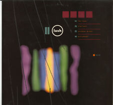 "Lush-PER AMORE 12"" VINILE 4 Track EP (1991) 4AD Bad 2001 feat WIRE COVER"
