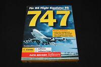 747 DATA BECKER für Microsoft MS Flight Simulator 95 + 98 PC TOP Zustand!!!