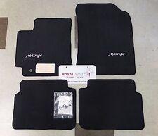 Toyota Matrix 2009 - 2013 FWD Dark Charcoal Carpet Floor Mats Set Genuine OEM OE