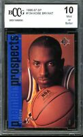 1996-97 SP #134 Kobe Bryant Rookie Card BGS BCCG 10 Mint+