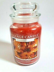Village Candle Citrus Medley Limited Edition 602 g