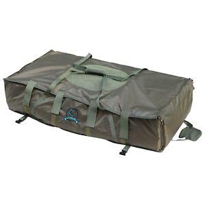 CARPZILLA Green Carp Fishing Unhooking Soft Mat Cradle Safeguard Protection Fold