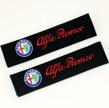 Car Seat Belt Covers Shoulder Pads Auto Safety Cushion Cotton For alfa Romeo