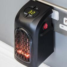 Home Wall-Outlet Fan Heater Handy Warm Air Blower Stove Warmer Electric Radiator