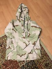 Army Gore-Tex Medium Regular Parka/Coat/Jacket Desert Camo DCU USGI EUC!!