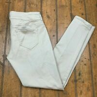 Maurices Womens Small Regular Jegging Legging Jeans Beige Stretch Skinny Pants