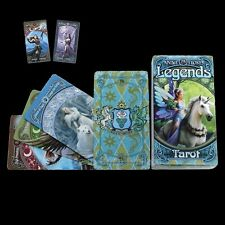 *LEGENDS TAROT* By Anne Stokes With 78 Coloured Art Illustrated Cards