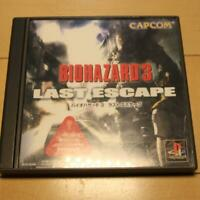 PS1 PS PlayStation 1 Resident Evil 3 Last escape from Japan