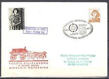 Poland 1973 - Stagecoach Post on the trail of Copernicus. Tuszyn -Piotrkow Tryb.