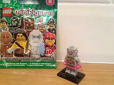 Lego Serie 11 Lady Robot Perfecto Estado