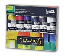 Liquitex Heavy Body Acrylic Paint  Classic Set 6 x 59ml