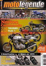 MOTO LEGENDE 235 NORTON COMMANDO 750 850 961 GUZZI 500 FALCONE BMW R75 YAMAHA YL