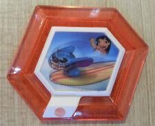 Exclusive Rare Disney Infinity Hangin' Ten Stitch Surfboard Power Disc