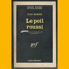 Collection Série Noire N° 1004 LE POIL ROUSSI Day Keene 1966