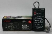 200 Watt Automatic 110 220 Volt Voltage Converter W/ Safety Braker 110v 220V