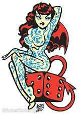 Lucky Tattoo Sticker Decal Poster Artist Vince Ray VR19