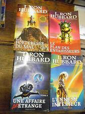 mission terre 4 tomes  par L.Ron Hubbard