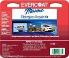 Evercoat Fiberglass Repair Kit Boat Marine 637 Polyester Resin 8 Oz Fib 100637