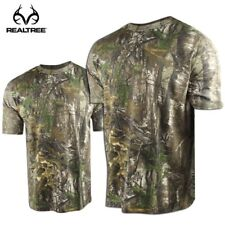 Realtree MAX-5 Camo Crew Neck Hunting Shirt - Short Sleeve M, L or XL - NEW!