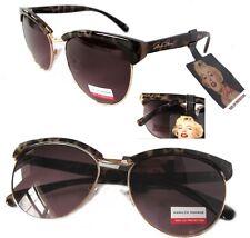 NWT Marilyn Monroe Womens Sunglasses 1067 Leopard-Gold/Pink $60.00