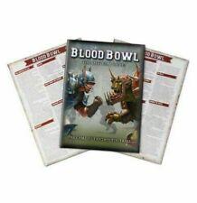 Libro de reglas de Blood Bowl + Hojas de referencia rápida-Nuevo y Sellado