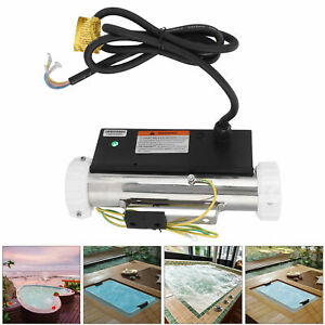 Electric Water Heater Thermostat 1.5KW 220V for Swimming Pool Bath SPA Hot Tub