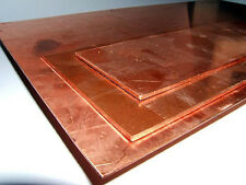 Hoja de cobre 1.2mm Medio Duro