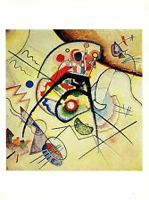 "1979 Vintage Kandinsky "" Reminiscence (Ruckblick )"" Couleur Offset Lithographie"