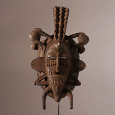 10218 Senufo Kepelie Mask Poro Iconic Ivory Coast
