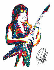 Randy Rhoads, Ozzy Osbourne, Guitar Player, Heavy Metal, 8.5x11 PRINT w/COA A