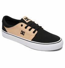Tg 42 - Scarpe Uomo Skate DC Shoes Trase TX Black Tan Sneakers Schuhe 2019