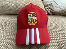 New listing Adidas British Lions 2013 Player Issue Rugby Union Red Cap In Great Condition