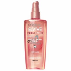 L'Oreal Elvive Smooth Intense Frizz Taming Serum 3.4 Ounce (100ml)