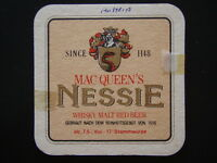 MAC QUEEN'S NESSIE WHISKY MALT RED BEER EGGENBERGER URBOCK COASTER