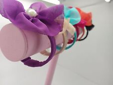 Flower Armband 12x Joblots Snap Closed Bangles Costume Party Jewellery Kids Teen