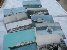 lot de cartes postales de bateaux