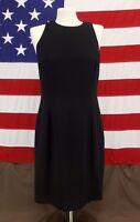 Jones New York Dress Sleeveless Black Women's Size 12