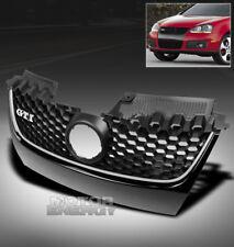 06-09 VW GTI GLI JETTA MK5 MAIN HEX MESH BUMPER UPPER GRILLE GRILL CHROME STRIP