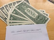 One Single Random 1 Dollar Bill Cheap & Cheerful Worn Condition One Buck