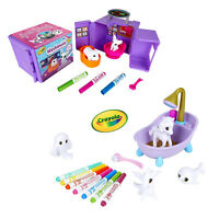Crayola Washimals Kids Creative Tattoo Shop OR Peculiar Pets Playset Artwork