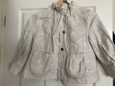 River Island Women's Gold Cropped Jacket Size 6